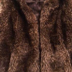 Jackets & Blazers - Faux fur vest.